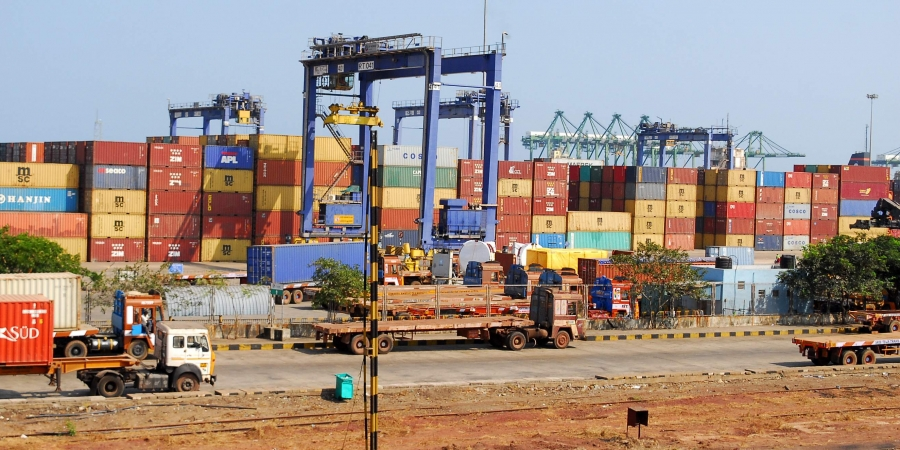 Container cargo handling at Major Ports drops over 30% in April-June: IPA