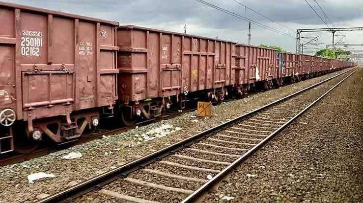 For the first time Indian Railways loads Special Parcel Train to Bangladesh