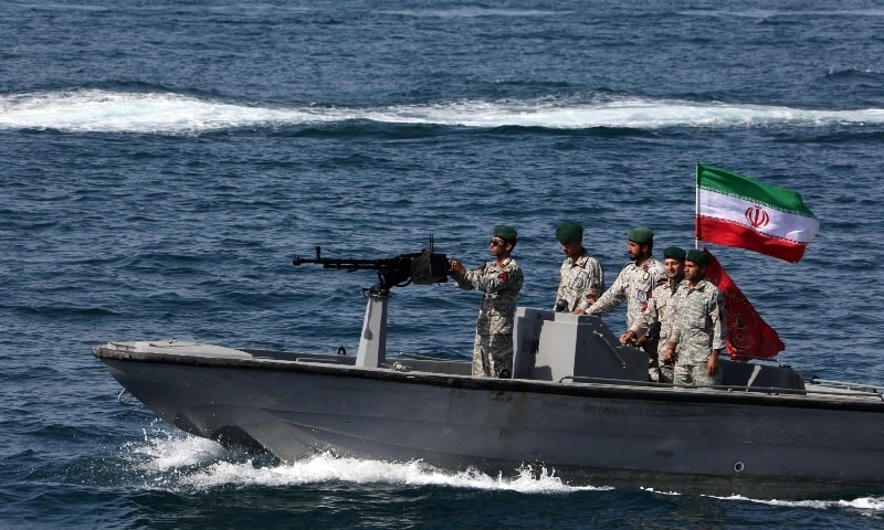 Iranian Forces Detain UAE Flagged Vessel