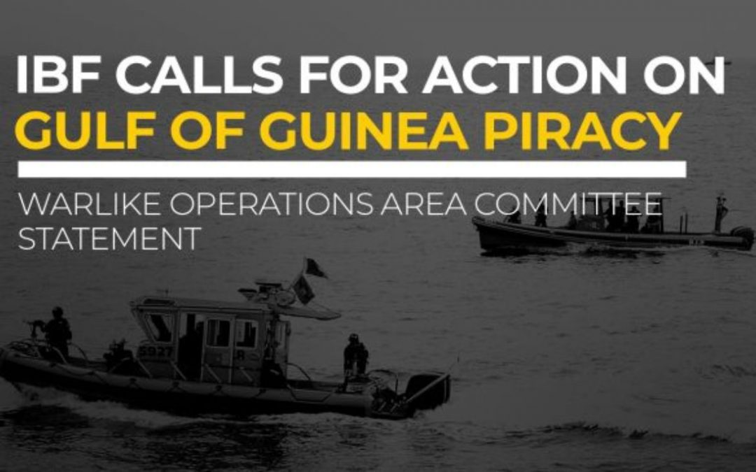 90% of Maritime Kidnappings Take Place In Gulf of Guinea, IBF Calls For Strict Action