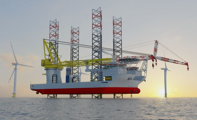 Installation Of Offshore Wind Turbines On World's Largest Offshore Jack-Up Installation Vessel Announced