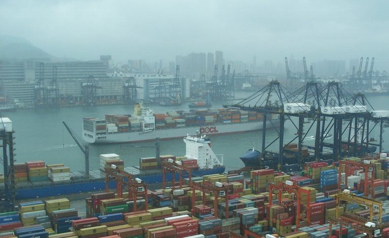 Hong Kong port at the centre of major Covid-19 outbreak
