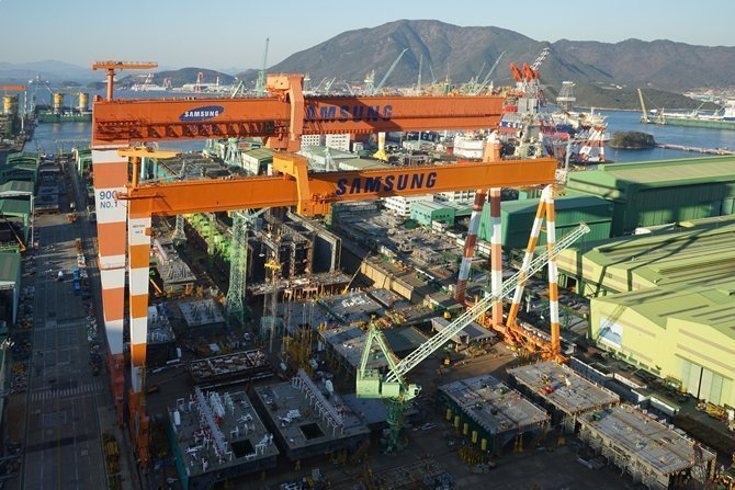 Fire at Samsung Heavy Industries kills one worker