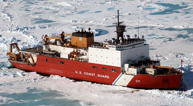 Fire On USCG Icebreaker Cancels All Arctic Operations For The US