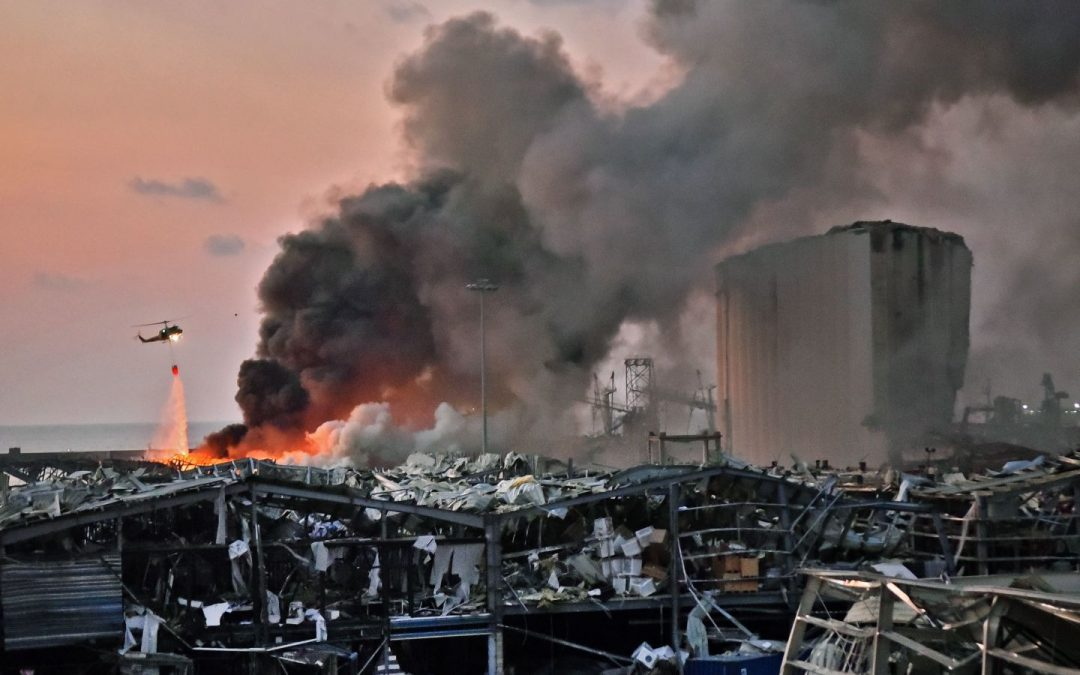 Deadly port explosion rocks Beirut