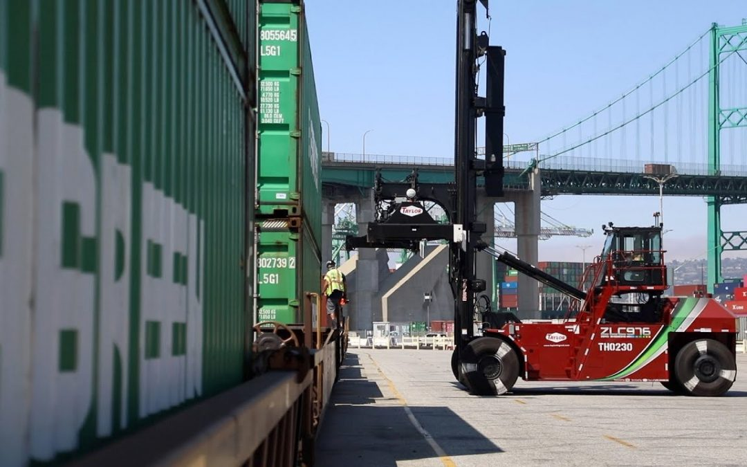World's First Zero-Emissions Top Handlers Performing Well At Port Of Los Angeles