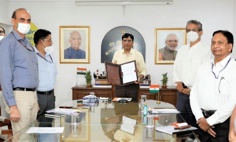 MoU for skill development in Port and Maritime sector signed between Ministry of Shipping & Ministry of Skill Development and Entrepreneurship
