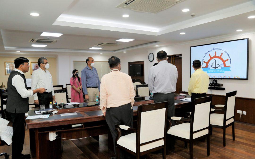 Mansukh Mandaviya launches 'SAROD-Ports'