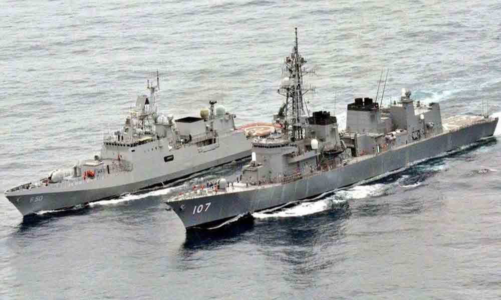 India, Japan Naval Exercise JIMEX-2020 Begins In Arabian Sea