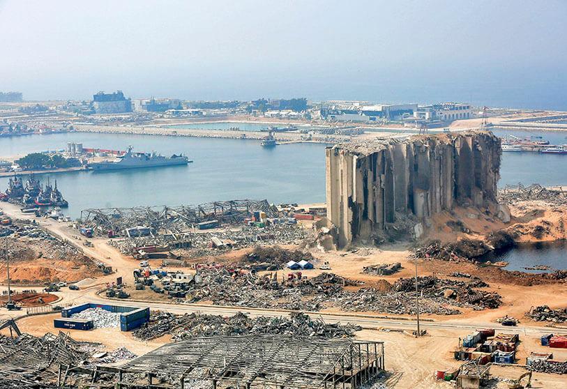 More ammonium nitrate found at Beirut port