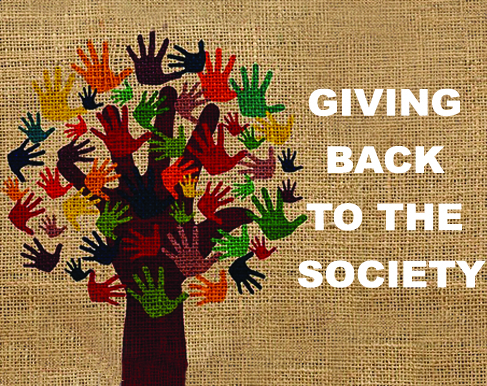 GIVING BACK TO THE SOCIETY
