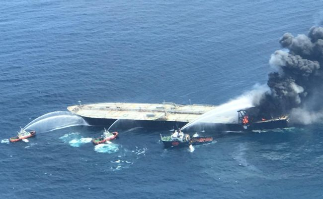 One Crew Dead in VLCC Fire Accident