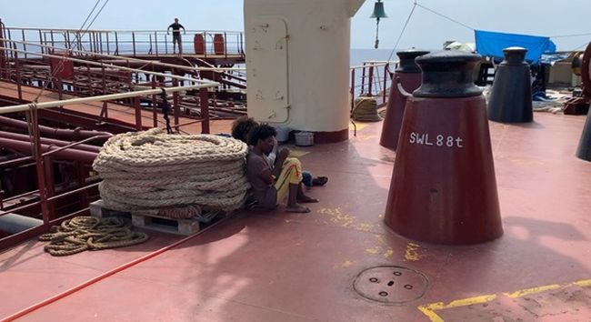 Maersk Etienne Stuck At Sea With 27 Rescued Migrants For A Month; 3 Jumped Overboard, Rescued Now