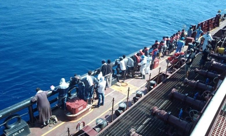 Maersk Etienne crisis ends