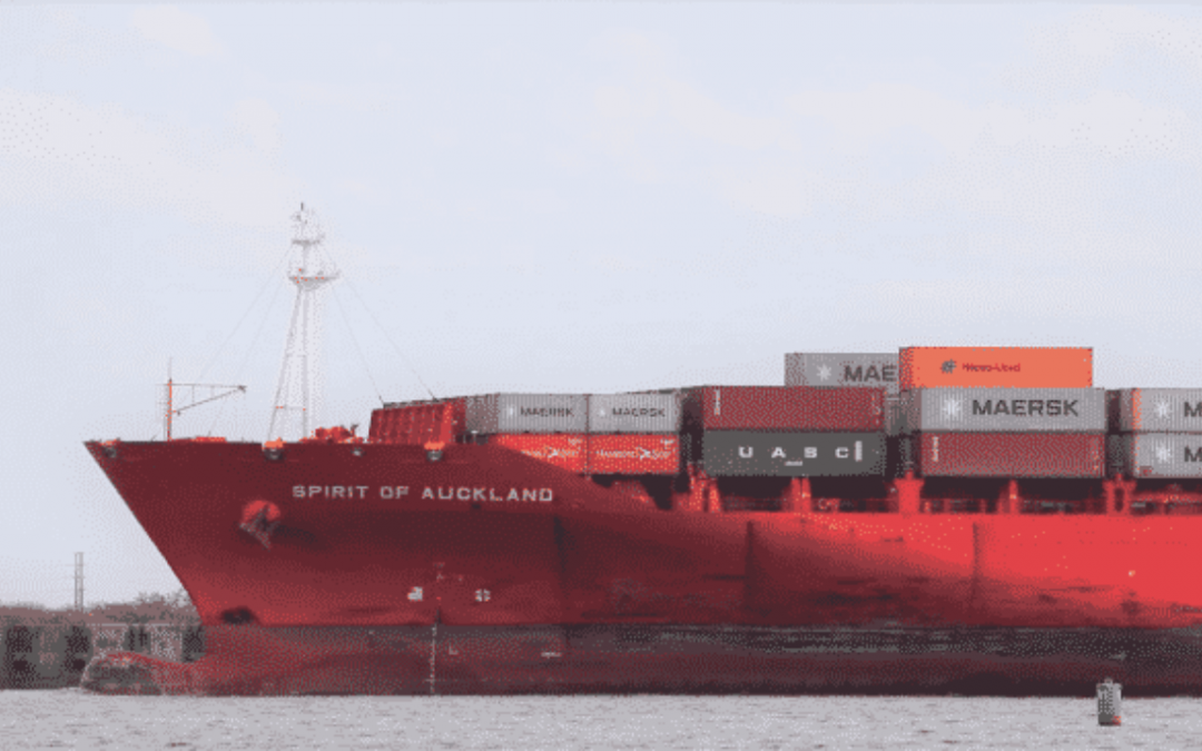 Chemical Leak Reported On The Ship Spirit Of Auckland