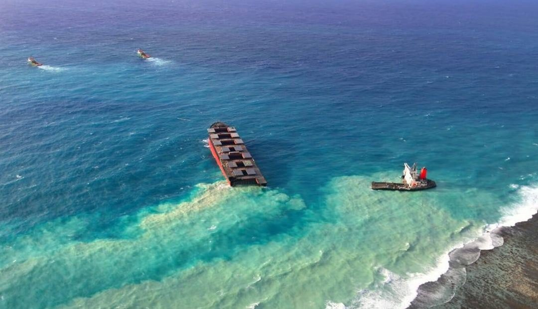 2 Crew Members Dead And 2 Missing, As Tug Sinks Near MV Wakashio