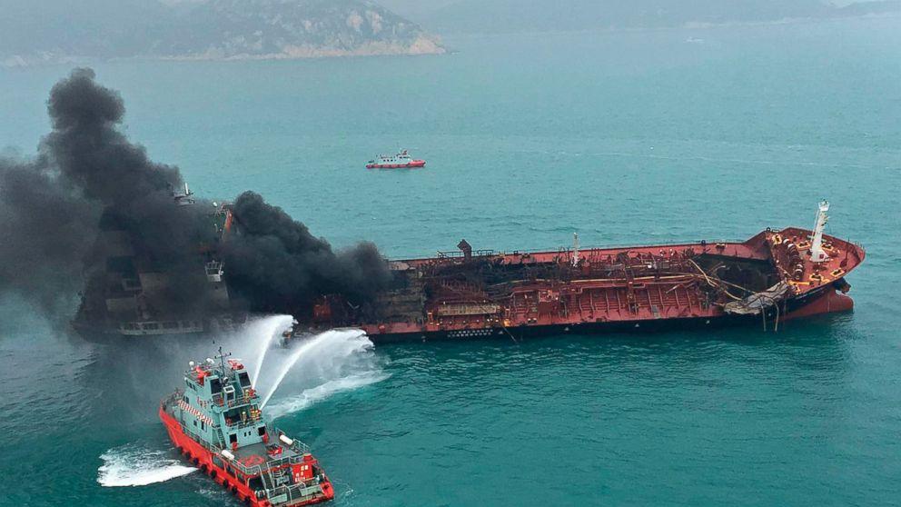 Explosion on Vietnamese tanker kills one