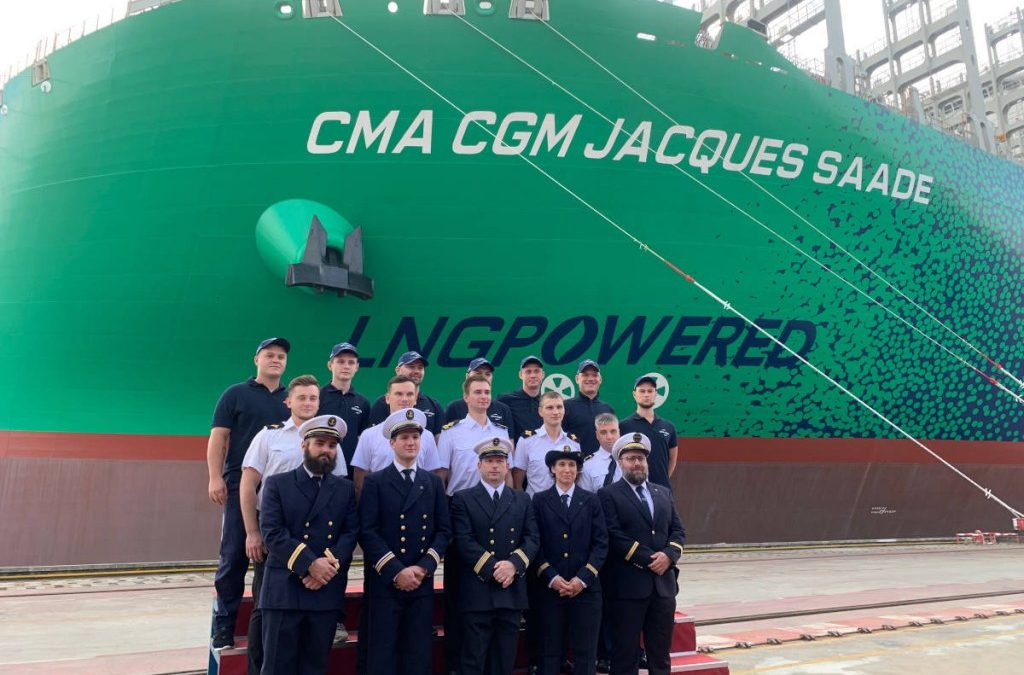 The CMA CGM Jacques Saade Joins The Fleet: The First 23 000 TEU Container Vessel In The World To Be Powered By Liquefied Natural Gas