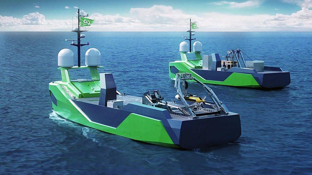 Norwegians Building Ocean Infinity Armada