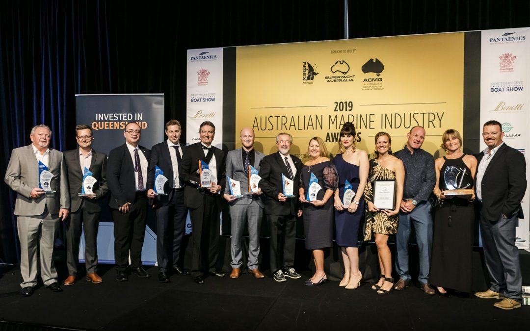 Australian Marine Industry Award Winners For 2019 Announced At ASMEX Gala Dinner