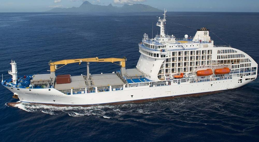 Passenger-Cargo Ship Aranui 5 Turned Back by COVID-19