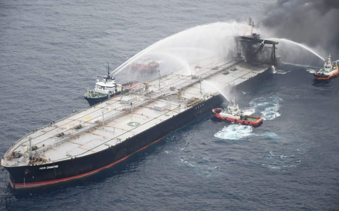 New Diamond Captain Released as Case of Burnt-Out Oil Tanker Concludes