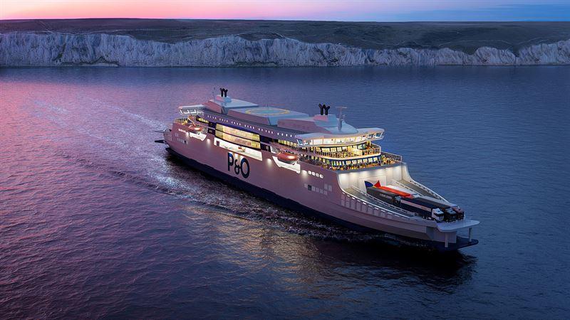 P&O Ferries Chooses Wärtsilä Engines For 'Super Ferries'
