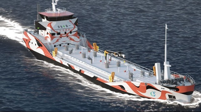 Japan Proceeds with Order for Two Battery Powered Bunker Vessels