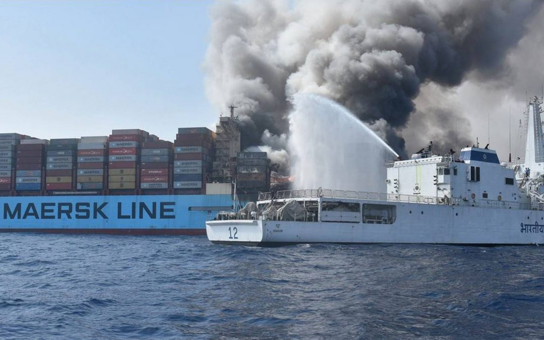 Maersk Honam Final Report Inconclusive on Fire's Source