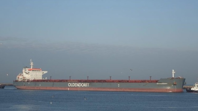 80 Percent of Crew on Bulk Carrier Test Positive for COVID-19