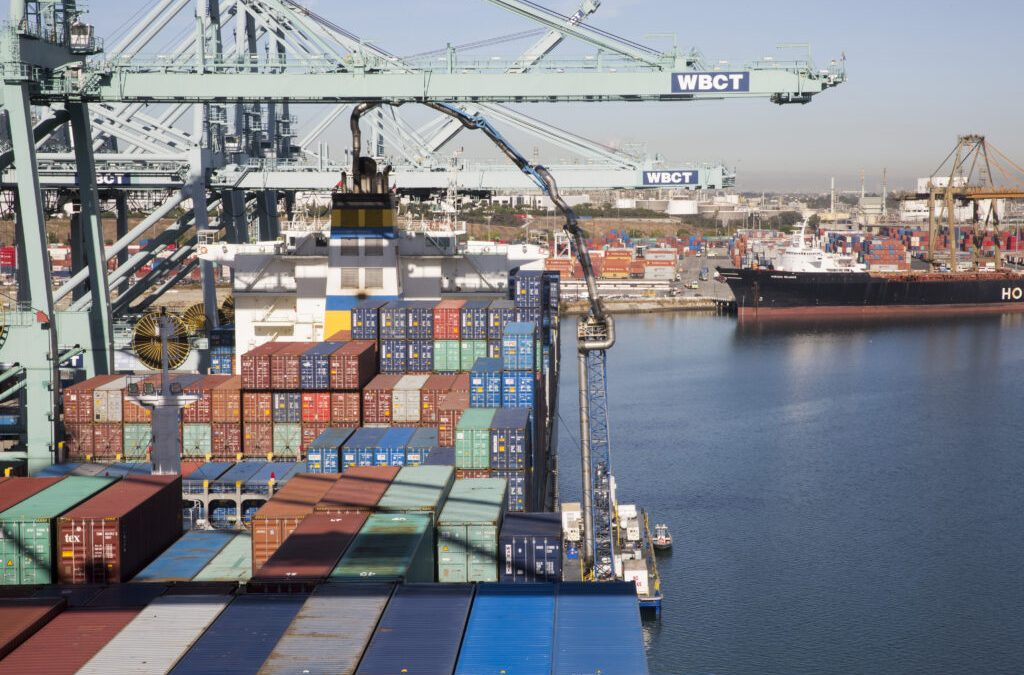 Port Of Los Angeles Reports Steady Progress On Cutting Air Emissions