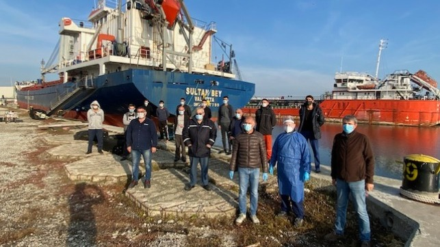 Crews Stranded in Italy Repatriated with Support of Maritime Charity