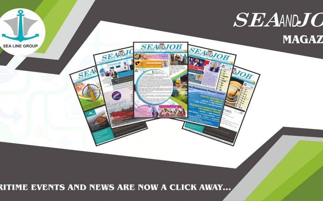 SEAANDJOB MAGAZINE: An Efficacious Venture for Seafarers & Shipping Companies
