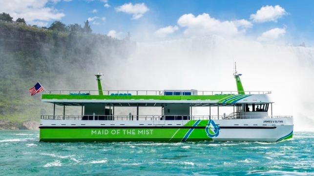 First American-Built Electric Passenger Vessels Enter Service