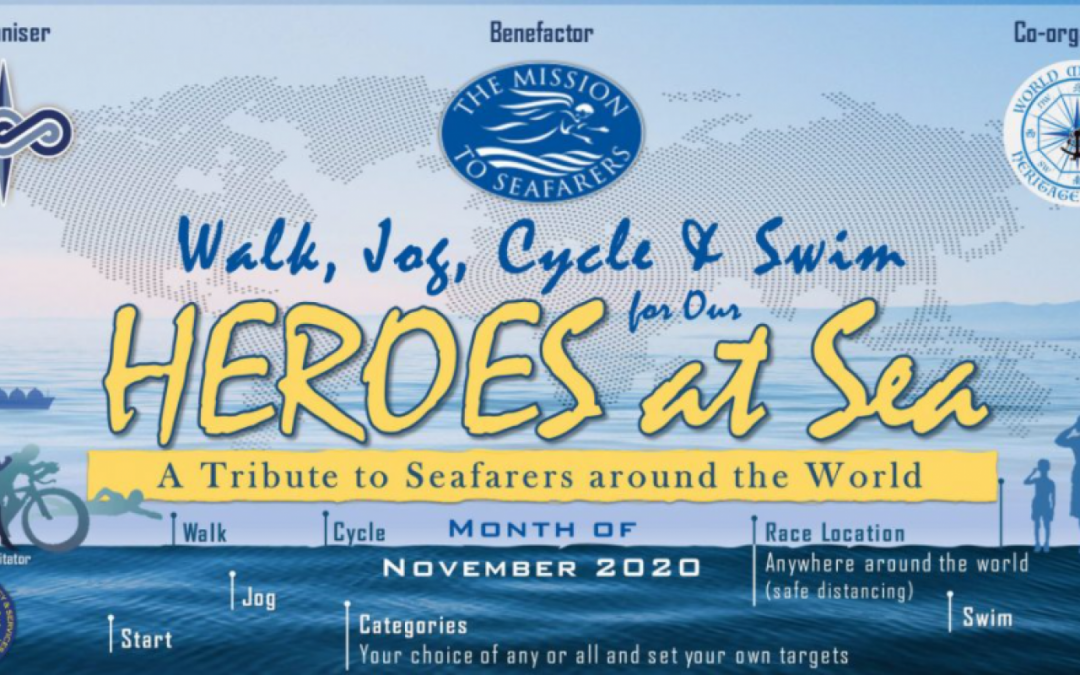 Walk, Jog, Cycle Or Run For Seafarers Around The World
