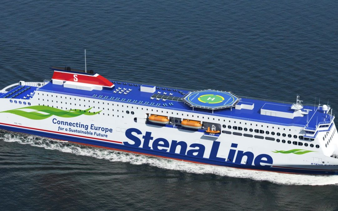 Stena Line Takes Delivery of Newest E-Flexer in China