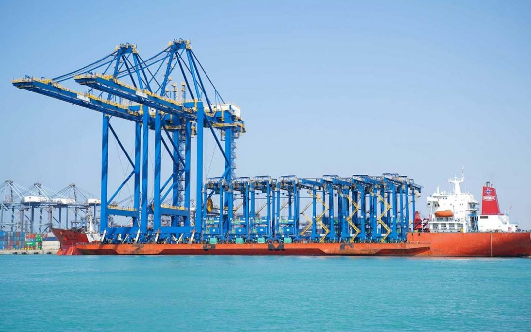 Red Sea Gateway Terminal Bolsters Capacity with New Cranes
