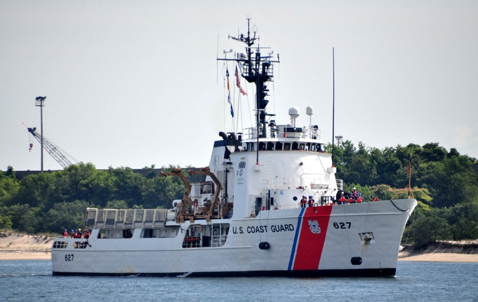 US Coast Guard Searching for Four Crew from Sunken Fishing Vessel