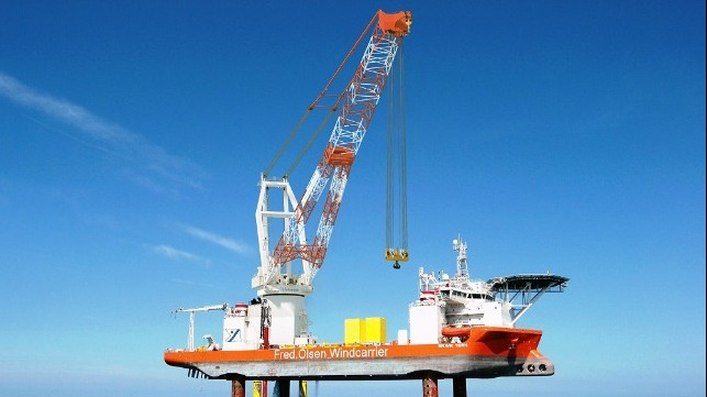 Rystad Predicts Shortage of Wind Farm Installation Vessels