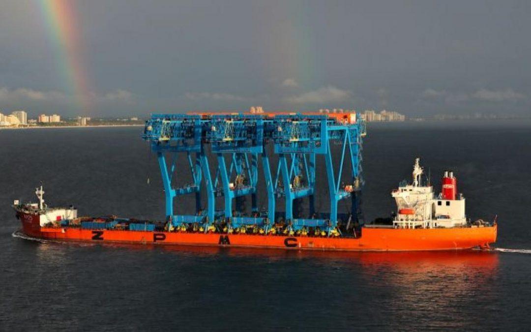 Port Everglades Receives World's Largest Low-Profile STS Cranes