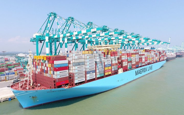Maersk Receives 4.9 Stars Out Of 5 On Environmental Reporting
