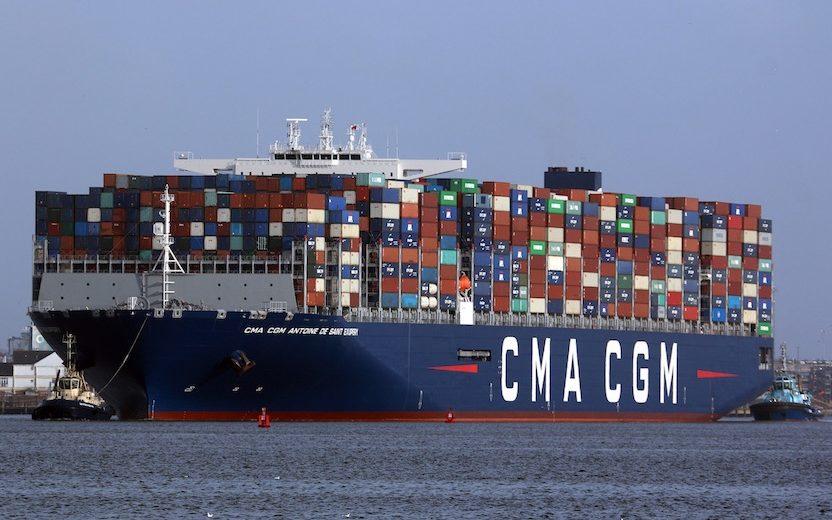 CMA CGM Names 4th 23,000 TEU LNG-Powered Boxship