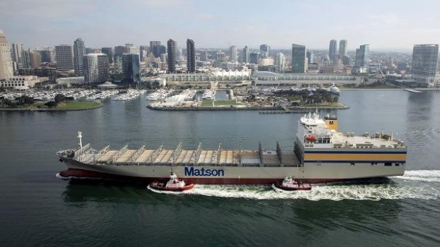 Matson Completes its Four-Ship Hawaiian Fleet Renewal Program