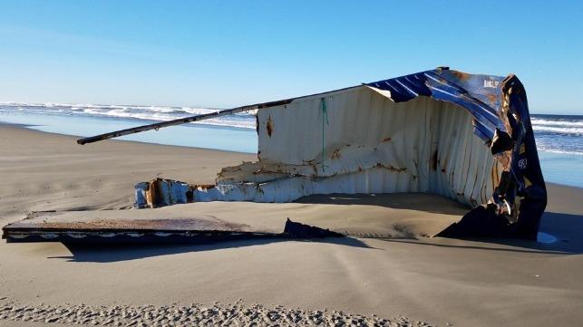 "Container Debris ""Sprouts up"" on Oregon Coast"