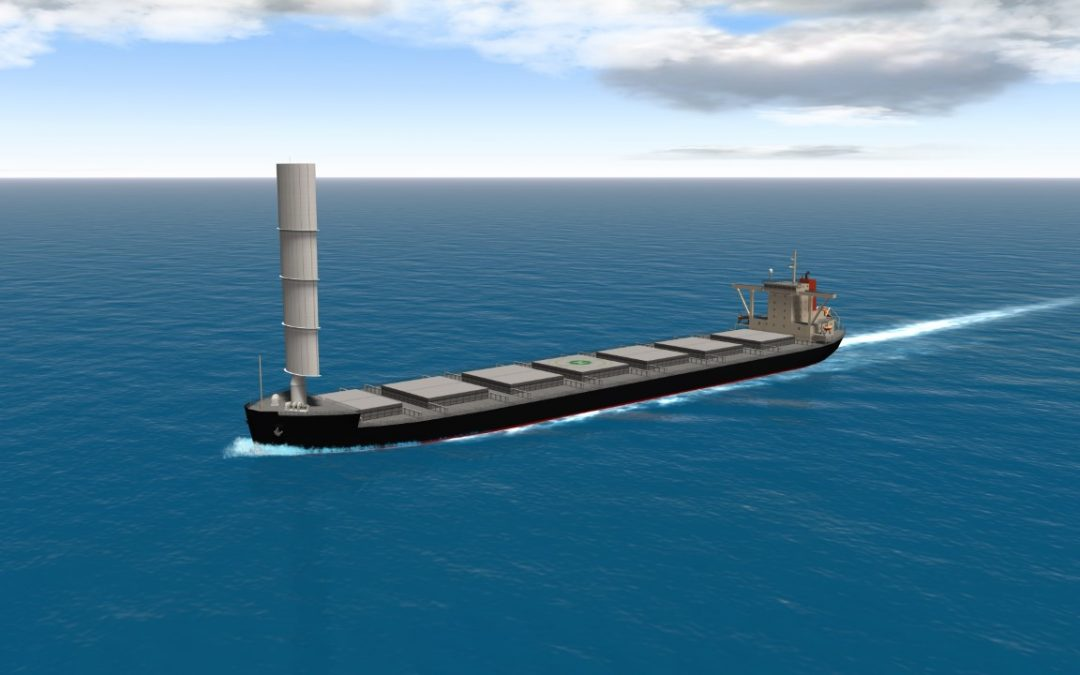 MOL Secures Transport Deal For Wind-Powered Coal Carrier
