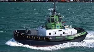 Ports of Auckland Fully-Electric Tug Hits The Water