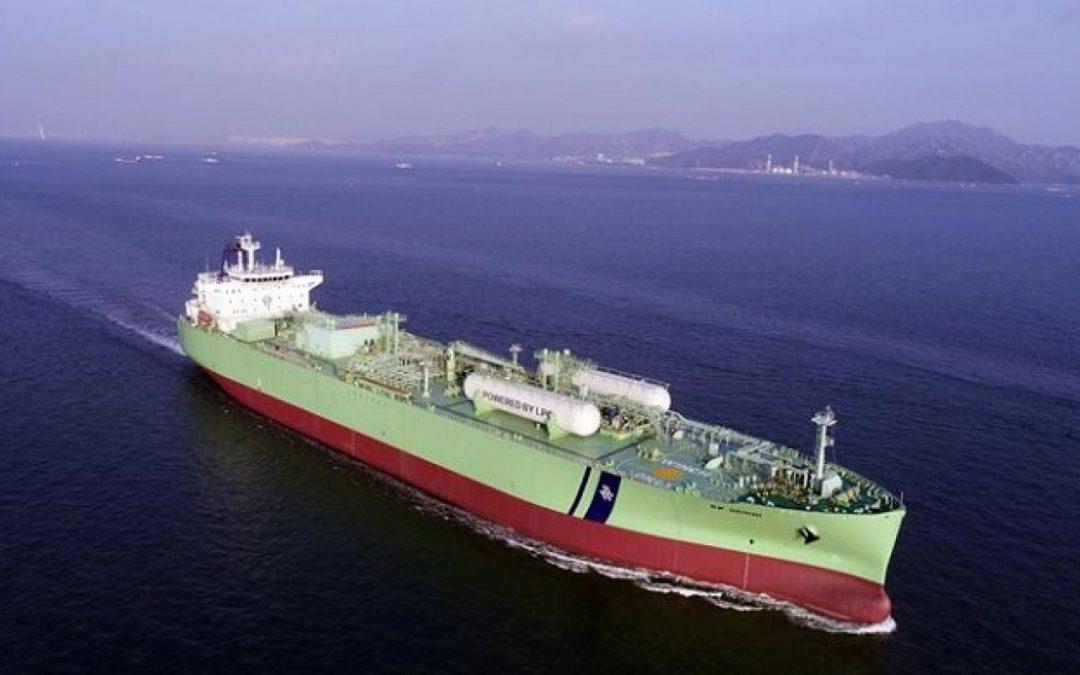 LPG Dual-Fuel Converted VLGC BW Gemini In Panama Collision