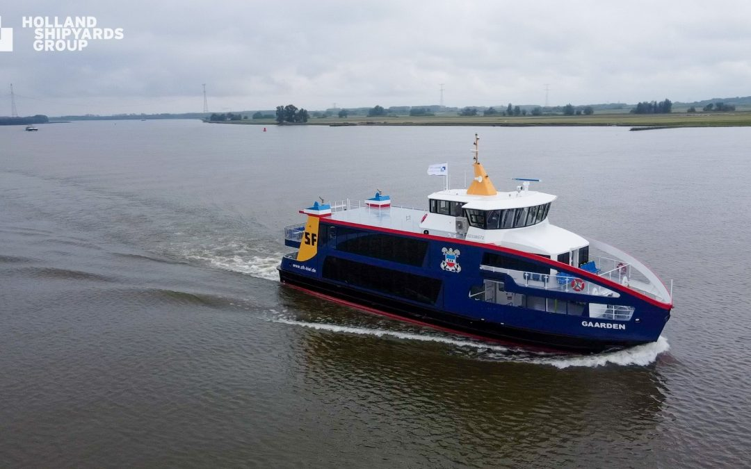 Holland Shipyards Group To Build 3 More Hybrid Ferries For SFK
