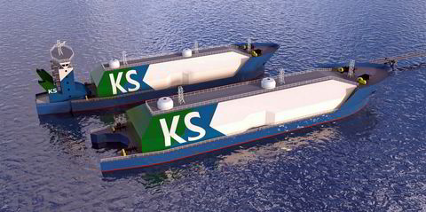 Kanfer Shipping AS Signs LOI For Two Small-Scale LNG Bunker Vessels
