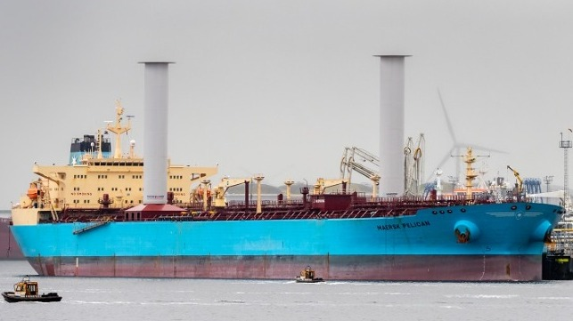 Maersk Tankers Sells Its First Wind-Assisted Vessel